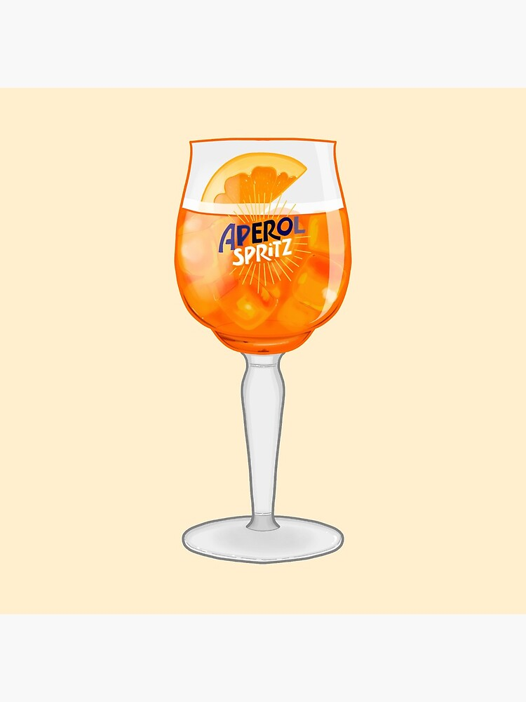 Aperol Spritz in a Glass by Jay-cm