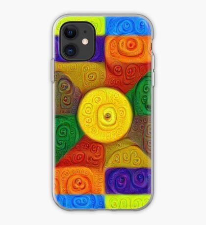 DeepDream Color Squares Visual Areas 5x5K v1447854295 iPhone Case