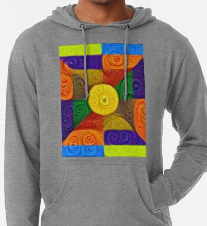 DeepDream Color Squares Visual Areas 5x5K v1447854295 Lightweight Hoodie