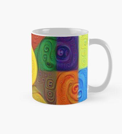DeepDream Color Squares Visual Areas 5x5K v1447854295 Mug