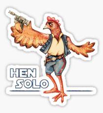 Hen Solo Sticker