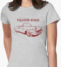 Thunder Road Womens Fitted T-Shirt