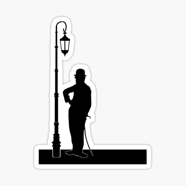 Pose de Charlie Chaplin Sticker