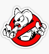 GB: Australia Drop Bear (red) Sticker