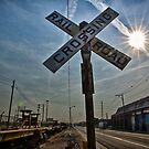 Railroad Crossing by Adam Northam