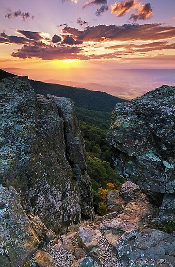 Autumn Sneak Peek - Shenandoah National Park, VA by Matthew Kocin