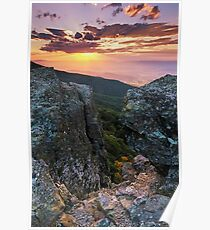 Autumn Sneak Peek - Shenandoah National Park, VA Poster