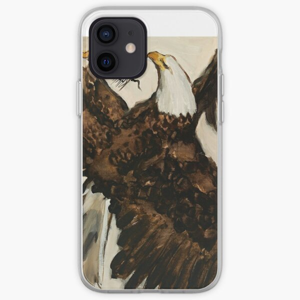 Aerial Hunter - Eagle Painting iPhone Soft Case
