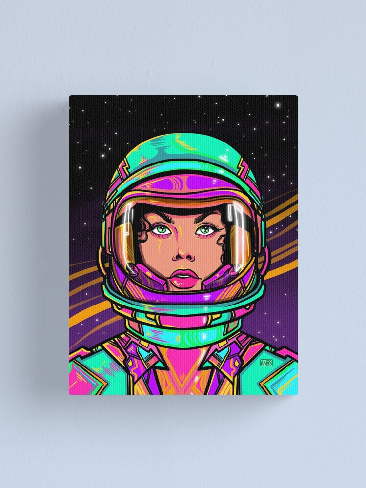 Alternate view of Boldly Go Canvas Print