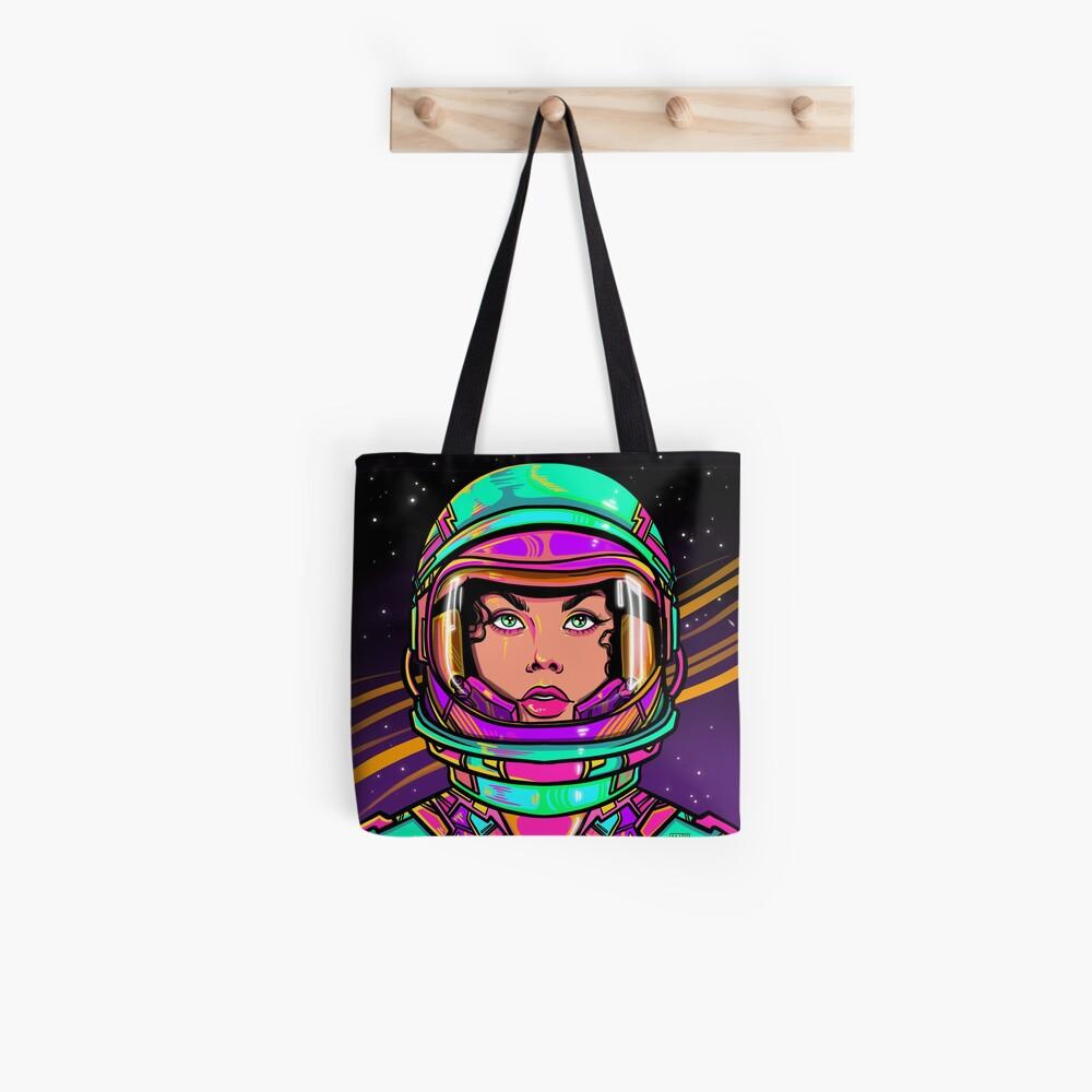 Mutig gehen Stofftasche