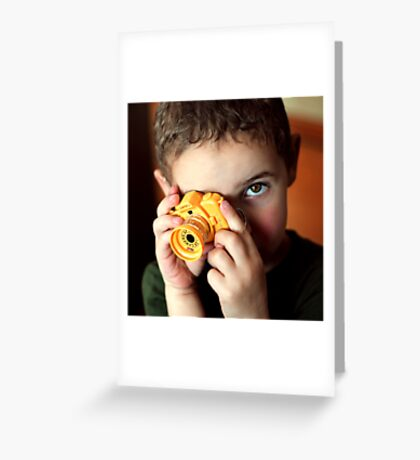 Smile for me, Mommy! Greeting Card
