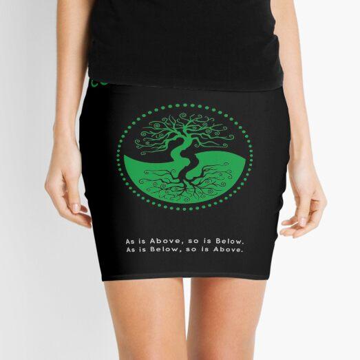 The Principle of Correspondence - Shee Symbol Mini Skirt