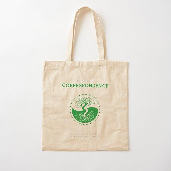 The Principle of Correspondence - Shee Symbol Cotton Tote Bag