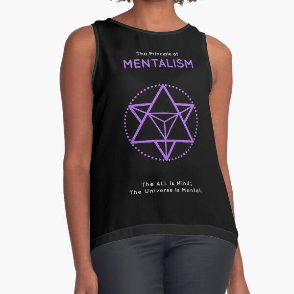 The Principle of Mentalism - Shee Symbol Sleeveless Top