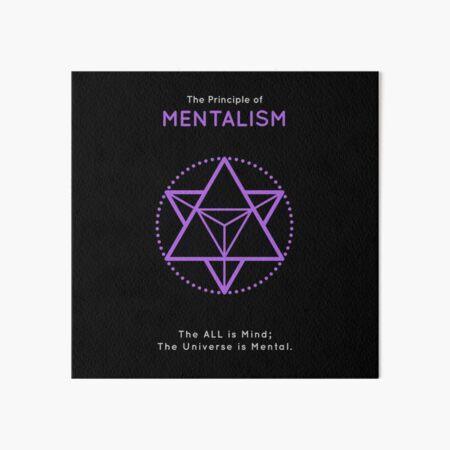 The Principle of Mentalism - Shee Symbol Art Board Print