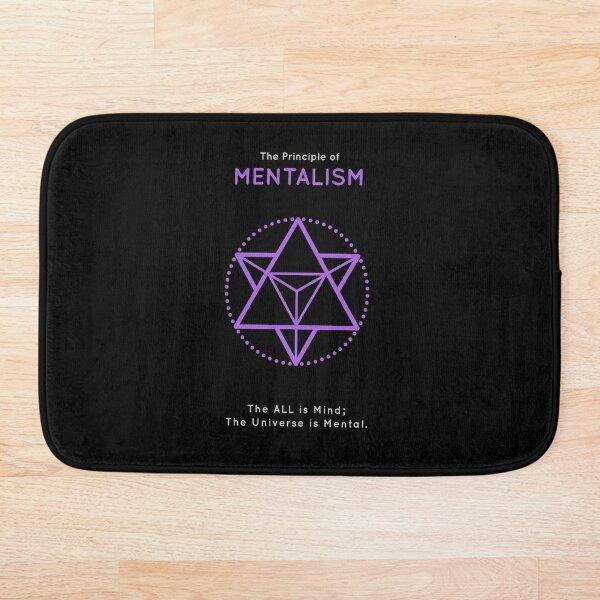 The Principle of Mentalism - Shee Symbol Bath Mat