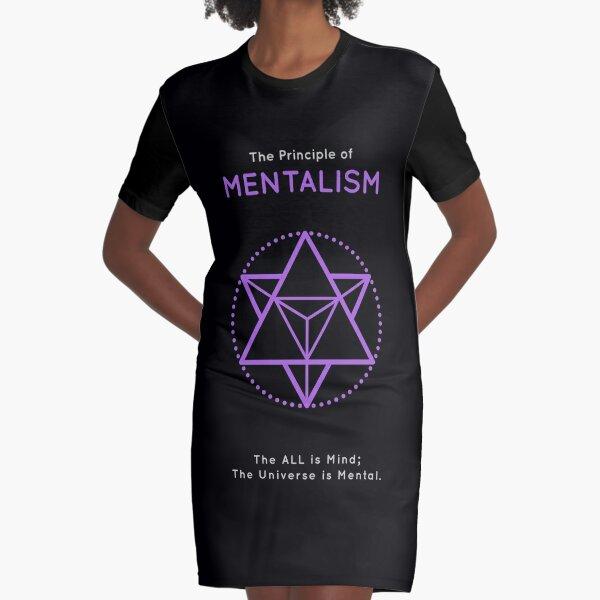The Principle of Mentalism - Shee Symbol Graphic T-Shirt Dress