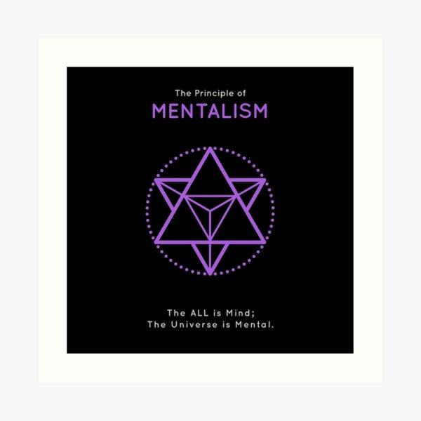 The Principle of Mentalism - Shee Symbol Art Print