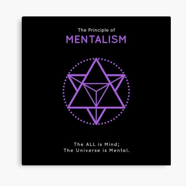The Principle of Mentalism - Shee Symbol Canvas Print