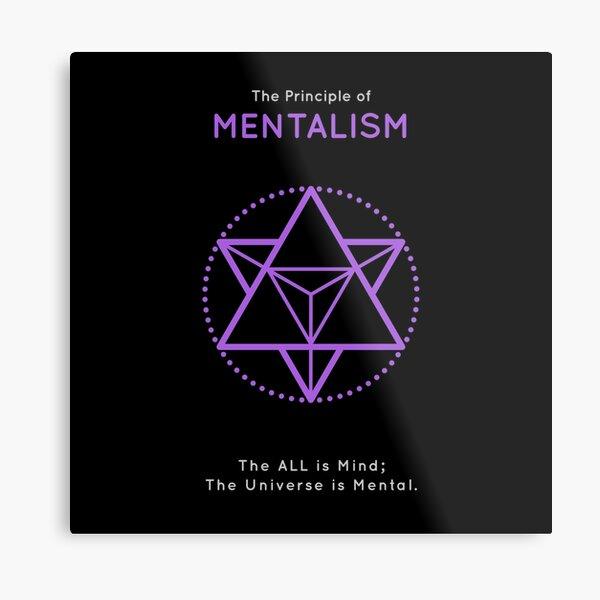 The Principle of Mentalism - Shee Symbol Metal Print