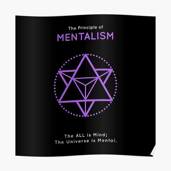 The Principle of Mentalism - Shee Symbol Poster