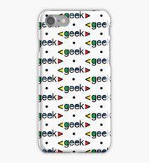 Geek Alert iphone 3G  4G  4s  iPhone Case/Skin