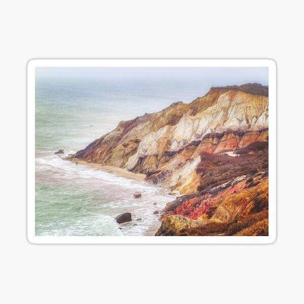 Aquinnah Cliffs in Martha's Vineyard Sticker