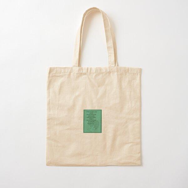 Angela Davis on Prisons Cotton Tote Bag