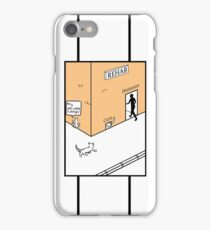 Rehab Cat in Colour iPhone Case/Skin