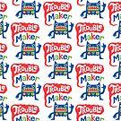 Trouble Maker Pattern    3G  4G  4s case by Andi Bird