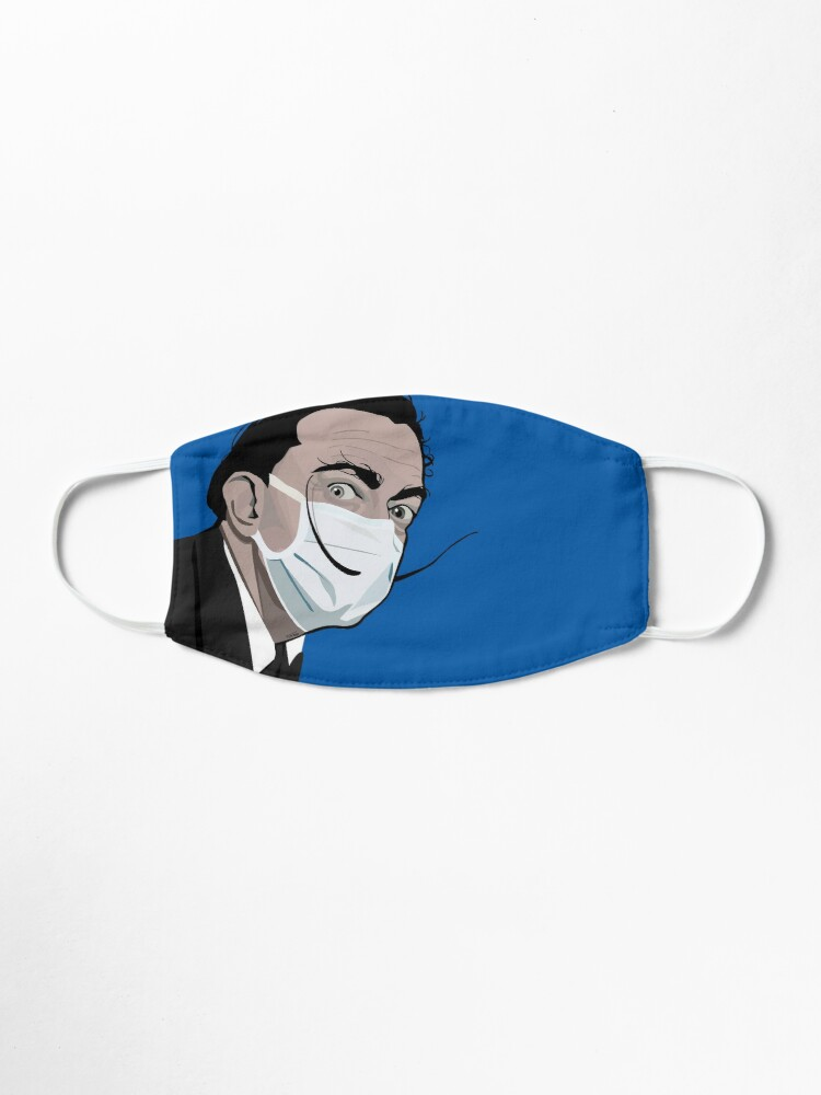 Alternate view of Portrait of Salvador Dali with a mask Mask