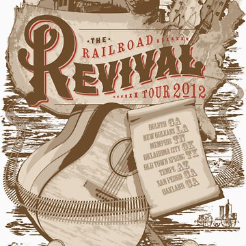 Railroad Revival Tour 2012 by adamcampen