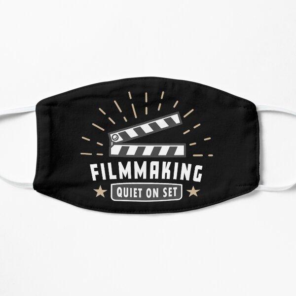 MOVIES FILMMAKER QUIET ON SET Flat Mask
