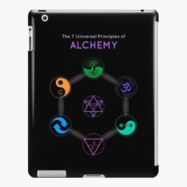 The 7 Universal Principles of Alchemy - Shee Symbols iPad Snap Case