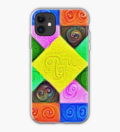 DeepDream Color Squares Visual Areas 5x5K v1447913433 iPhone Case