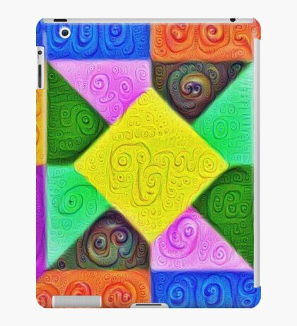 DeepDream Color Squares Visual Areas 5x5K v1447913433 iPad Case/Skin