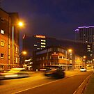 Night photography - belfast #1 by FRED TAYLOR