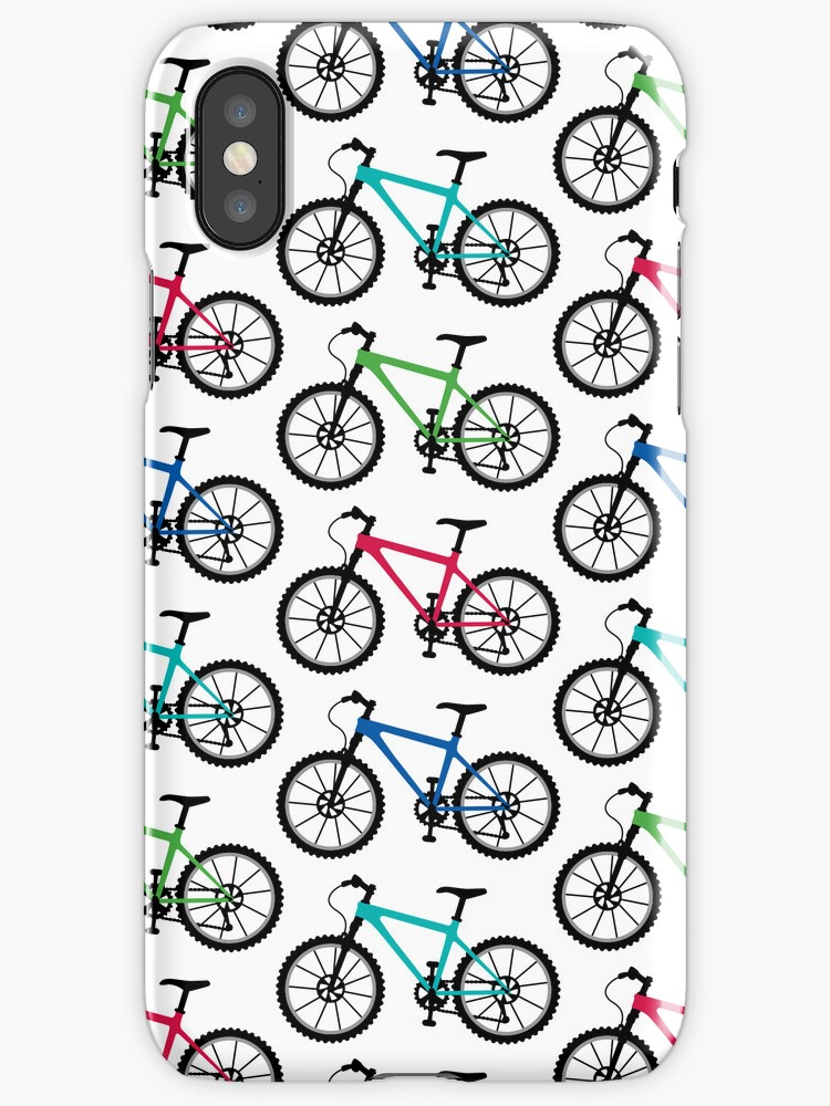 Mountain Bike multi  3G  4G  4s iPhone case by Andi Bird