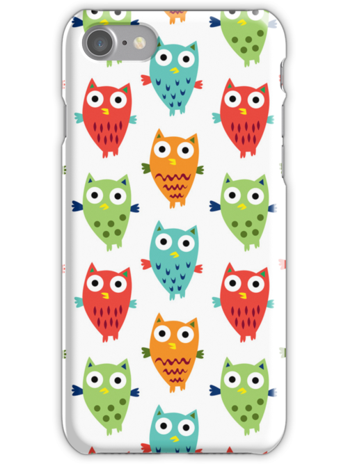 Owl Fun 3G  4G  4s case by Andi Bird