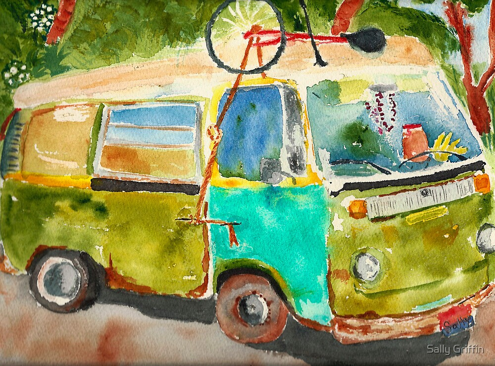 Peace, Love...and...Sun Tea by Sally Griffin