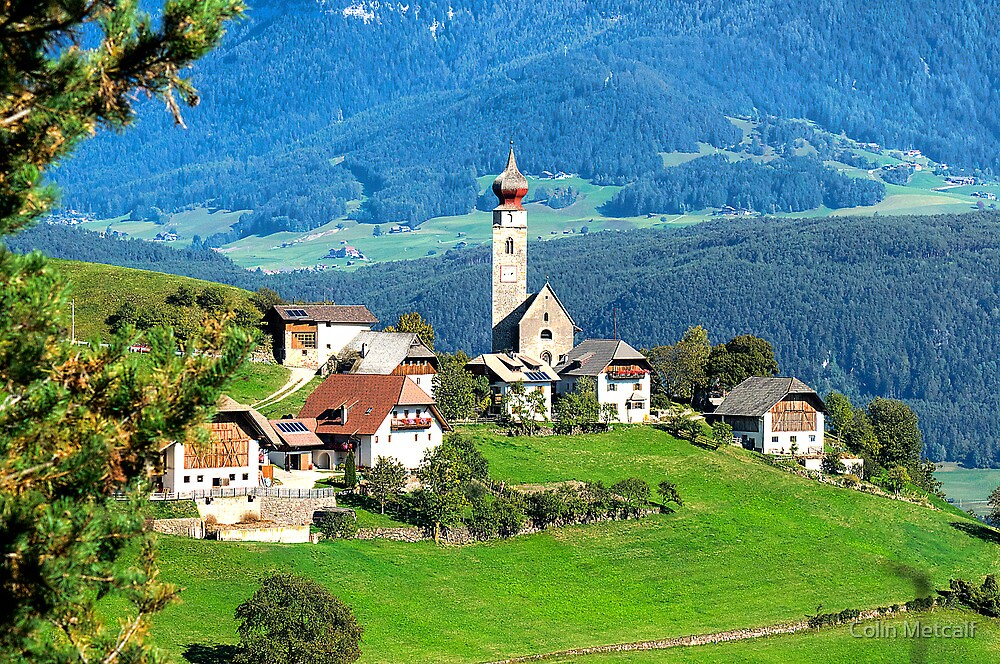 South Tyrolean Hamlet #2 by Colin Metcalf