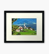 South Tyrolean Hamlet #2 Framed Print