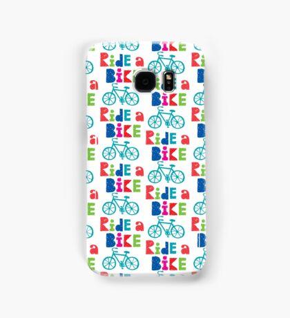 Ride a Bike Sketchy white 3G  4G  4s iPhone case   Samsung Galaxy Case/Skin