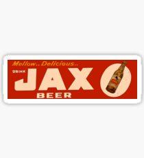 JAX BEER OF NEW ORLEANS Sticker