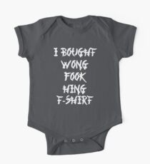 Funny Chinese I Bought Wong Fook Hing One Piece - Short Sleeve