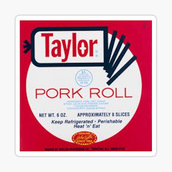 taylor ham pork roll Sticker