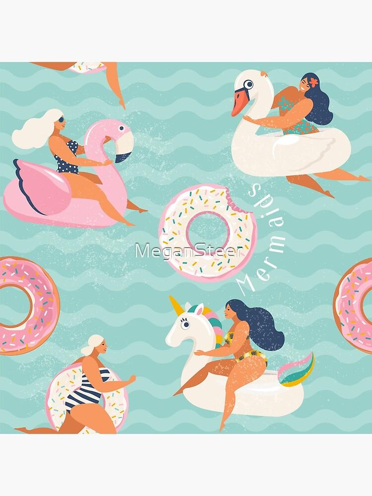 The Modern Mermaids by MeganSteer