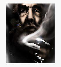 Alan Moore - Comic Messiah Photographic Print