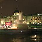 Trafalgar Square Fountain - London by cactus82