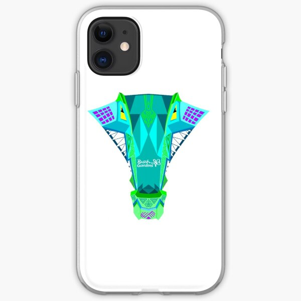 Iron Gwazi Head (Top View) iPhone Soft Case